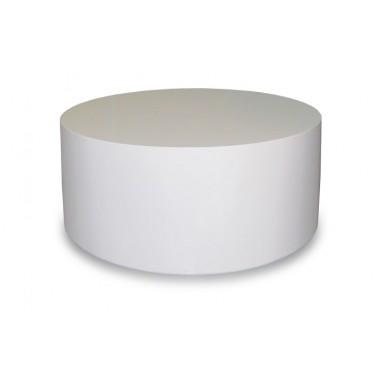 Mesa centro lacada redonda