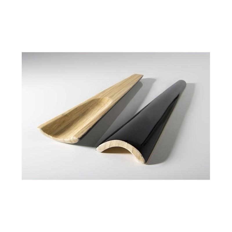 Cubiertos bambú lacado NOIR