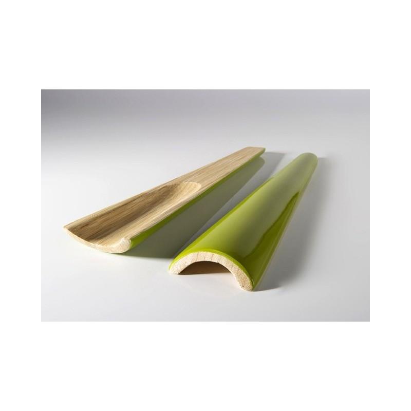 Cubiertos bambú lacado OLIVE
