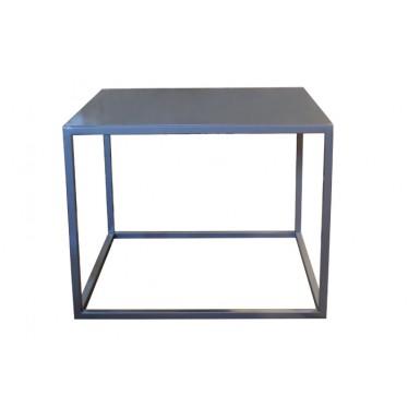 Mesa auxiliar Cubo chapa