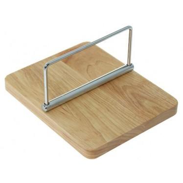 Servilletero madera / cromo