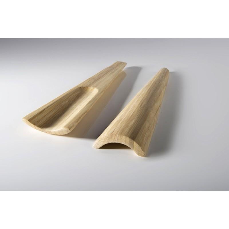 Cubiertos bambú NATURAL