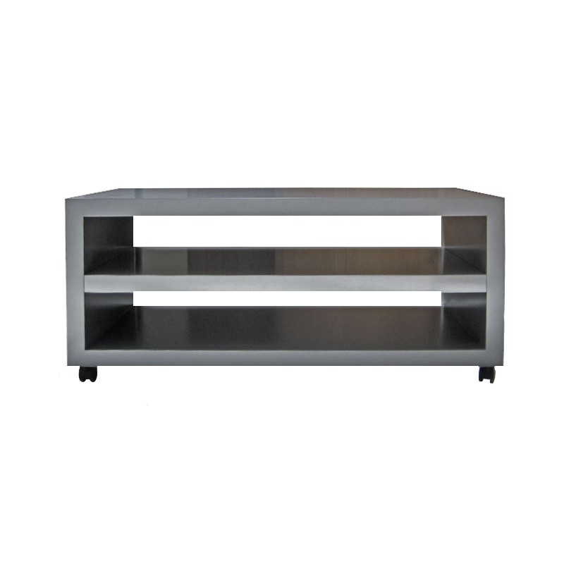 Mueble tv dm con ruedas mueble tv a medida online for Mesas de tv con ruedas