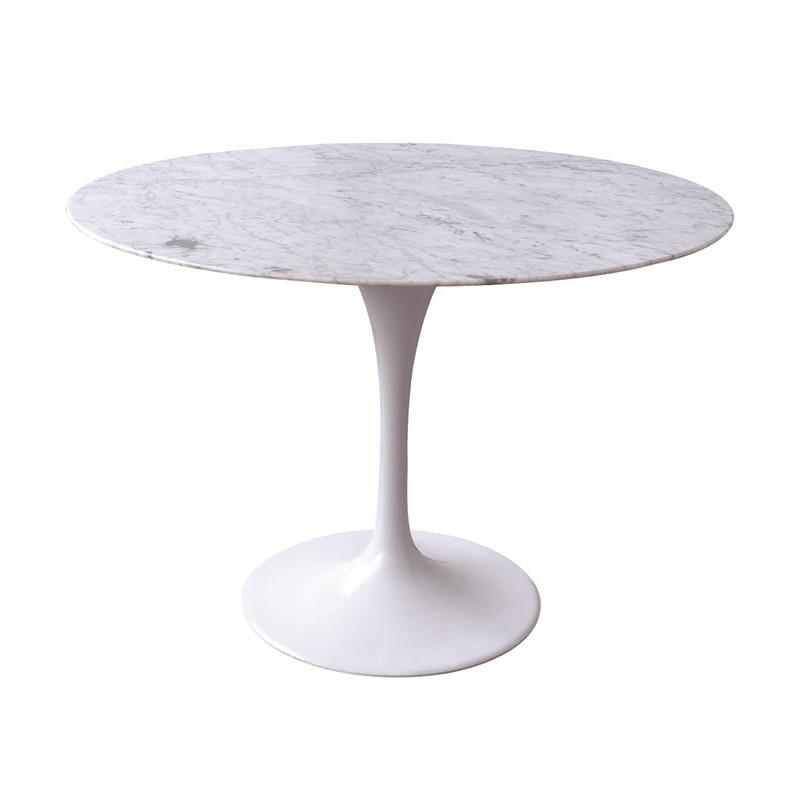 Mesa mármol redonda
