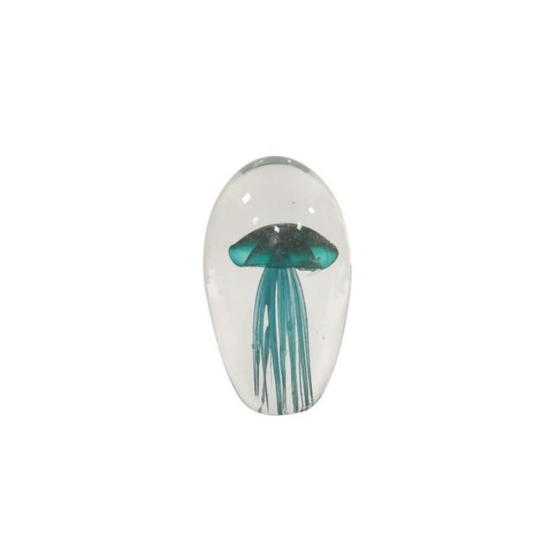 Pisapapeles Medusa Azul