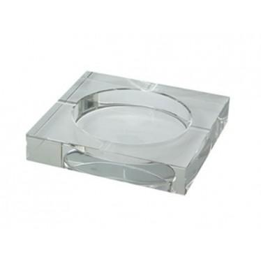 Cenicero cristal 15x15