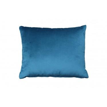 Cojín bicolor azul